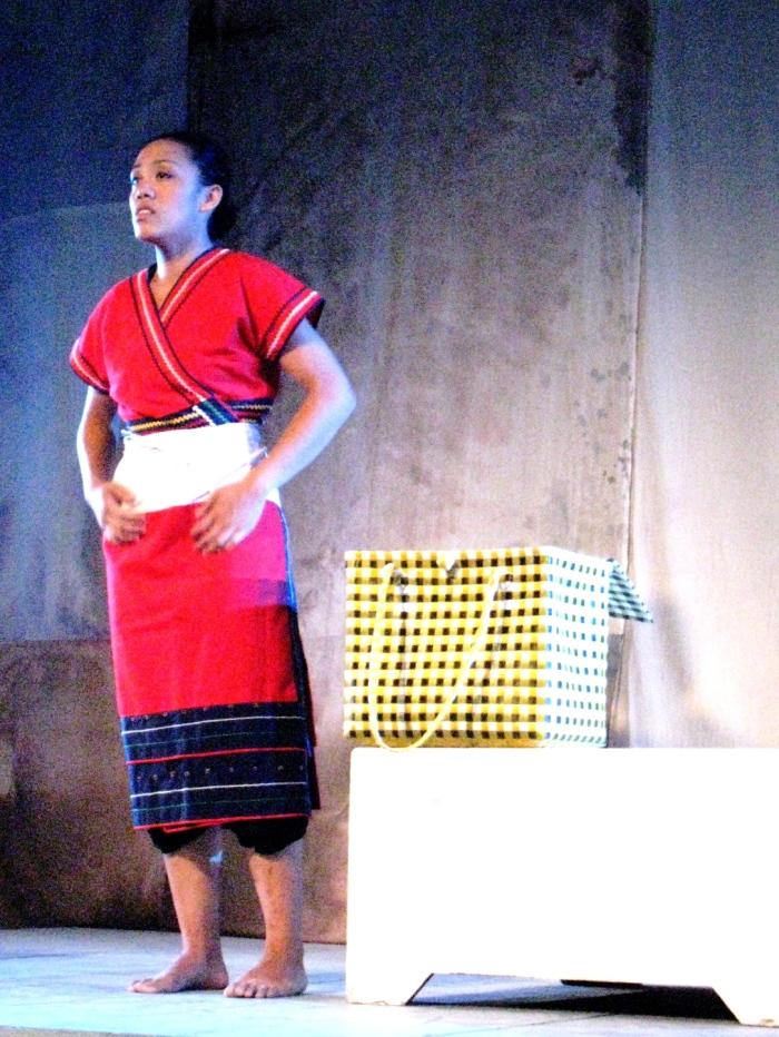 身聲2009小劇場藝術節記者會照片《第一百零八個巴奈》(身聲劇場提供)