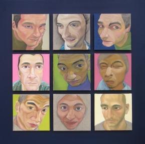 藝術專區-旅法台灣藝術家魏禎宏的展出作品-我的巴黎朋友