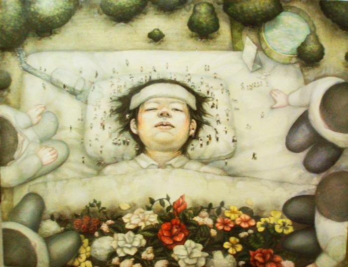 藝術專區-日本藝術家Miki Kobaya的展出作品