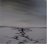 潘士豪 大浦洞─啞口01 (Taepodong ─Between mountain peak 01 ) 複合媒材/畫布 50x50(cm) 2009  7,500
