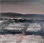 潘士豪 大浦洞─啞口02 (Taepodong ─Between mountain peak 02 ) 複合媒材/畫布 50x50(cm) 2009  7,500
